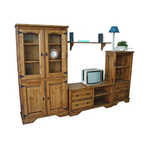 6- Mueble apilable salón estilo mejicano